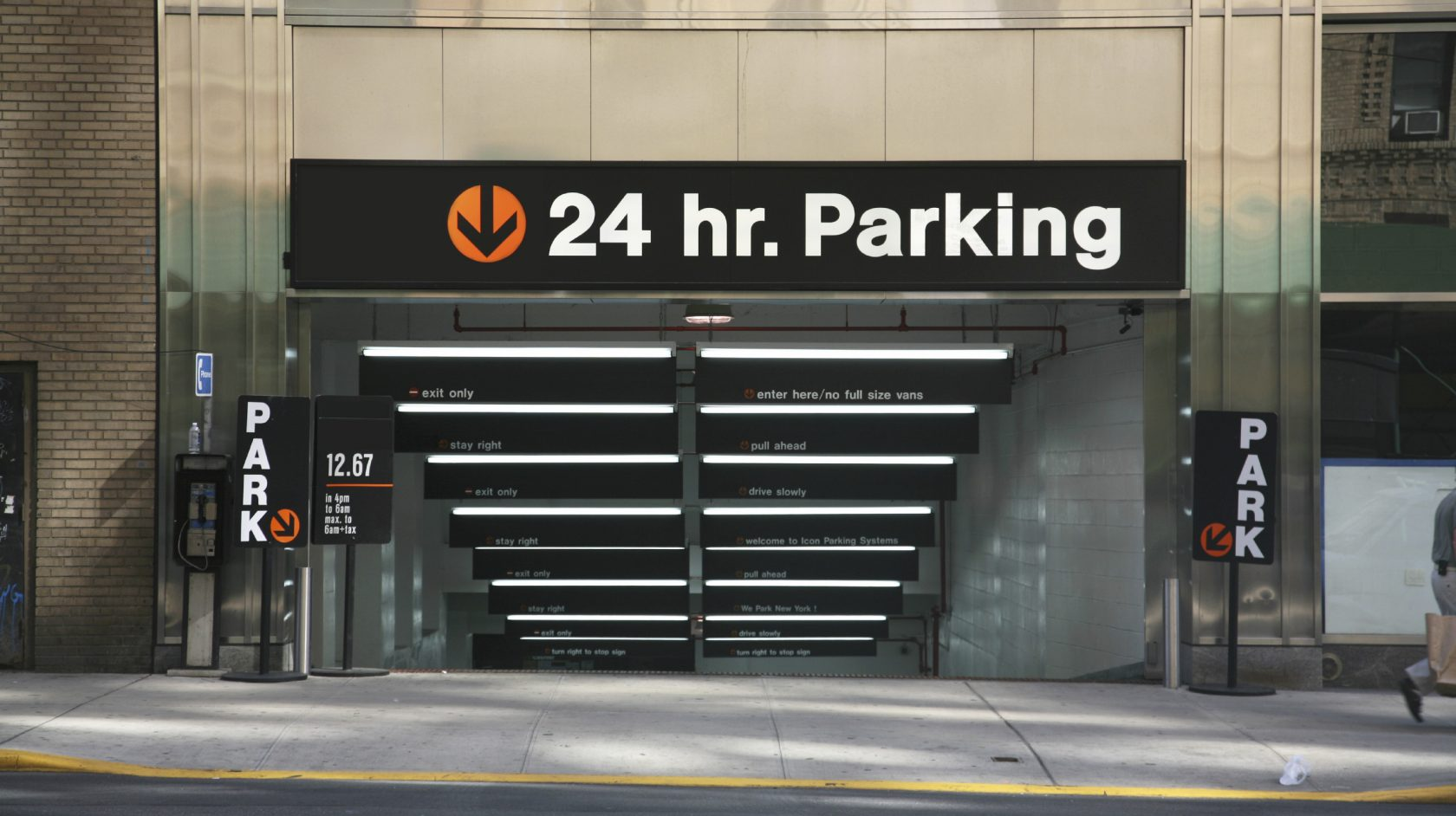 24 hour parking near The Lucerne Hotel in new york