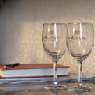 wine glasses from The Lucerne Hotel